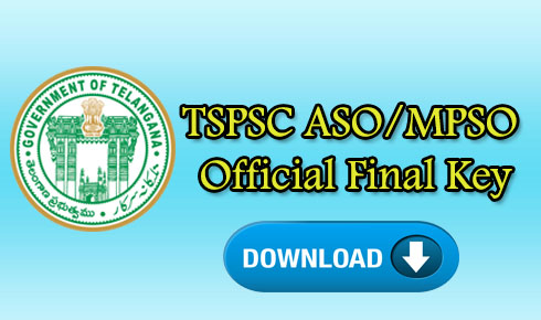 TSPSC ASO/MPSO Official Final Key 2018 download