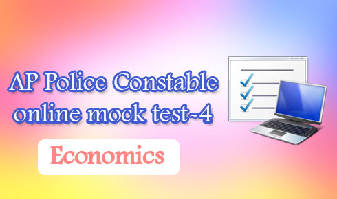 AP Police Constable online mock test-4