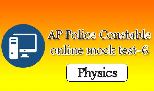 AP Police Constable online mock test-6