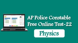 AP Police Constable Free Online Test-22