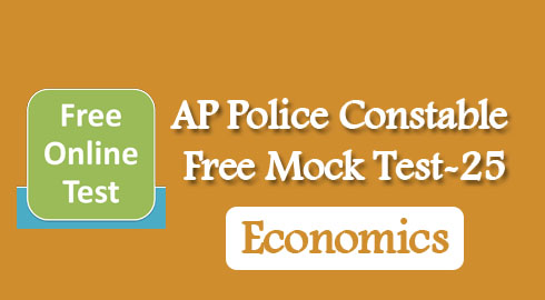 AP Police Constable Free Mock Test-25