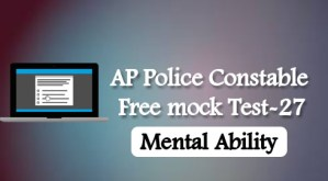 AP Police Constable Free mock Test-27