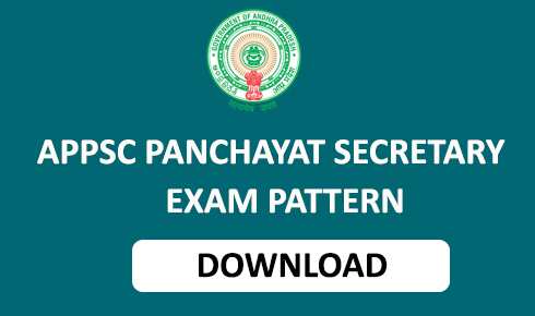 ap panchayat secretary exam pattern