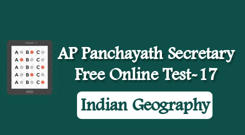 AP Panchayath Secretary Free Online Test-17