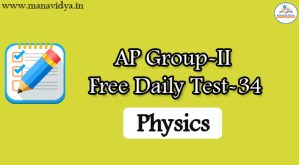 AP Group-II Free Daily Test-34q