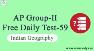AP Group-II Free Daily Test-59