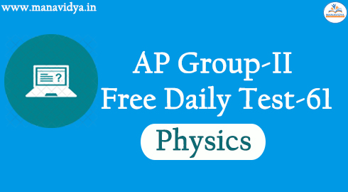 AP Group-II Free Daily Test-61