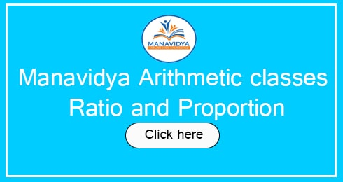 Manavidya arithemetic classes in Telugu