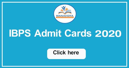 ibps clerk pre admit card 2020,
