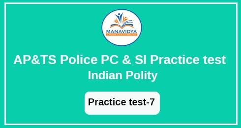 AP &TS POLICE Exam practice test -7