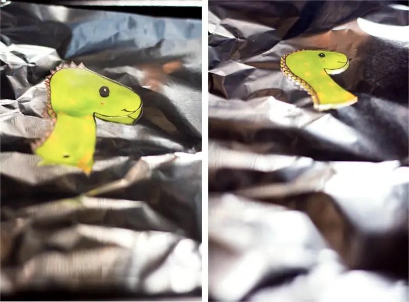 DIY marque-page dinosaure