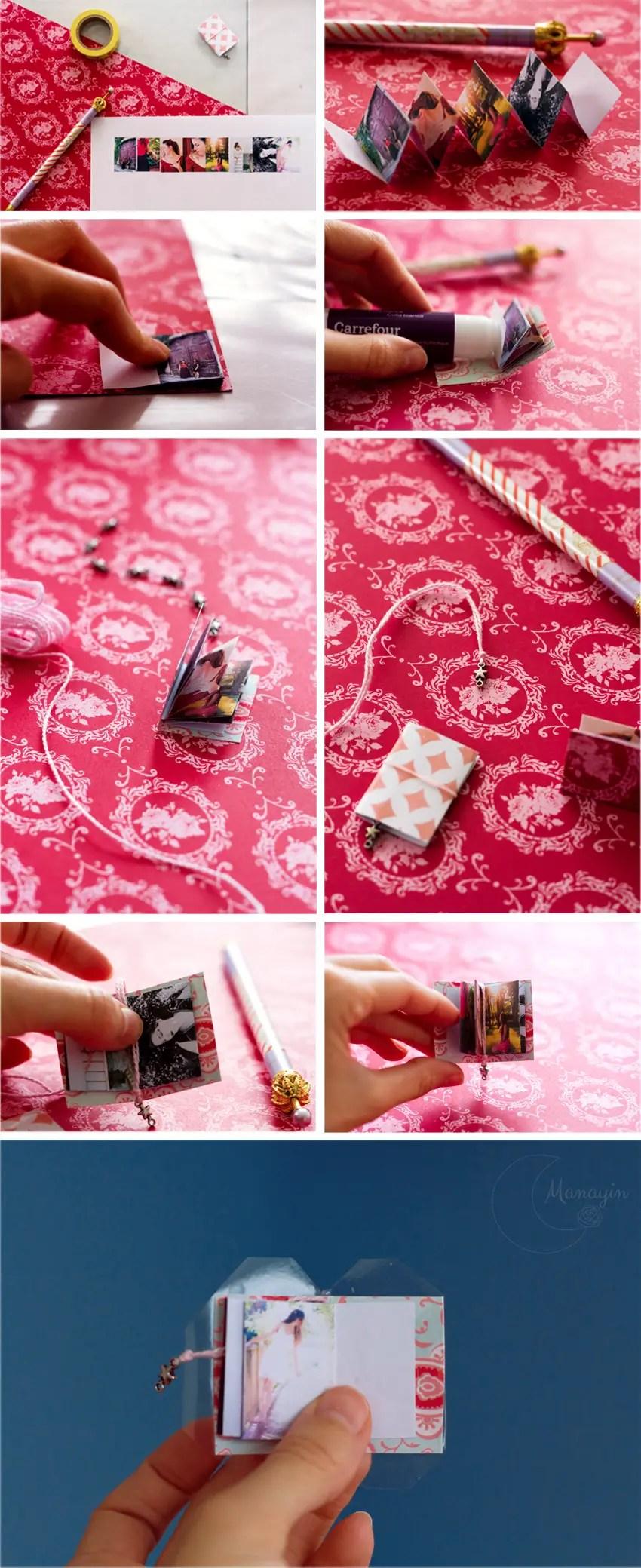DIY mini livre-photo