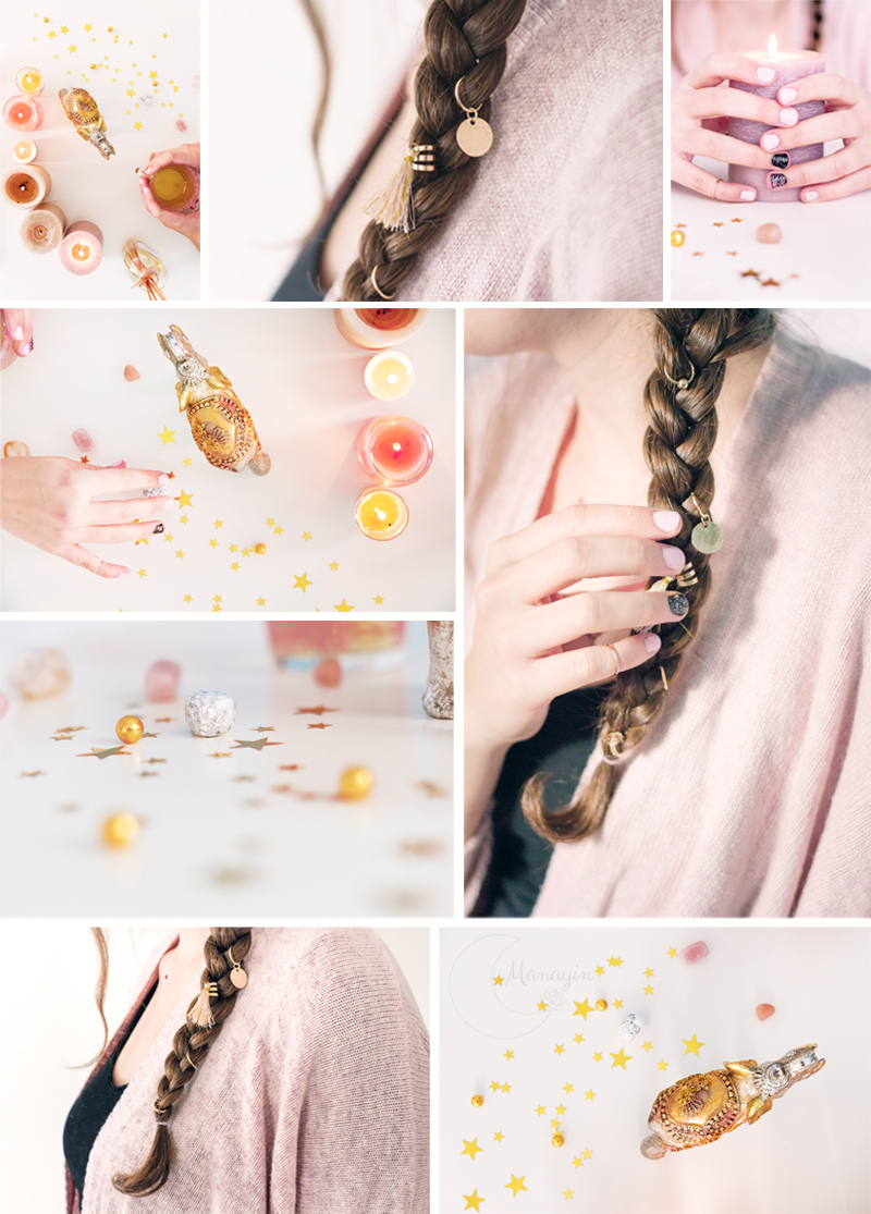 Inspirations Rose et Or - photographies