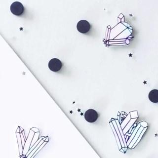 DIY magnets «cristaux» – Pimp ton frigo ! graphic