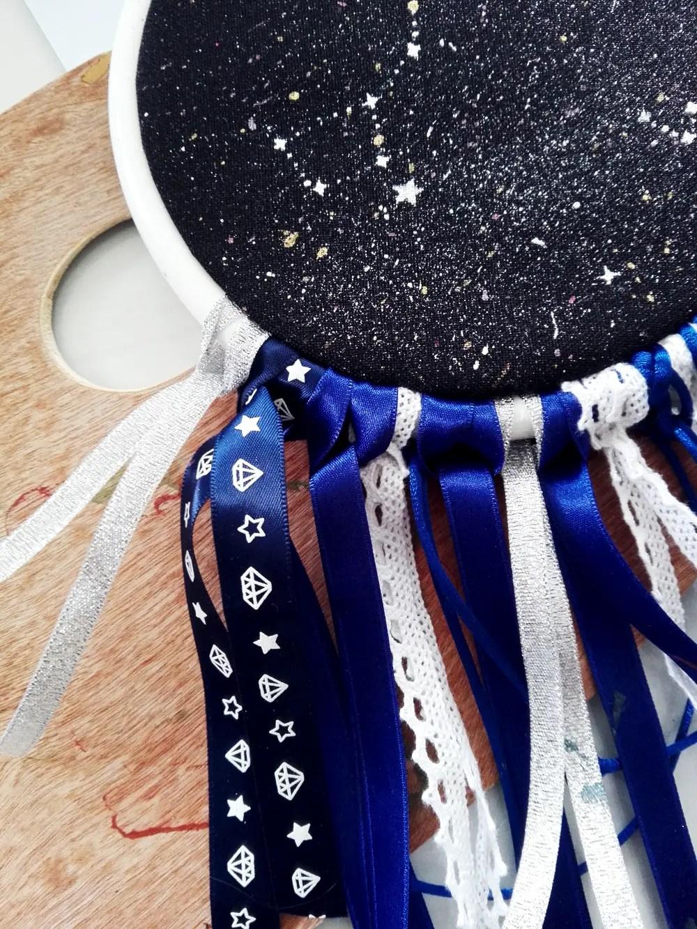 DIY dream-catcher cosmique
