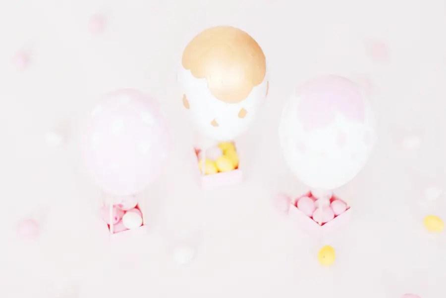 DIY pour Pâques : Oeufs-montgolfière