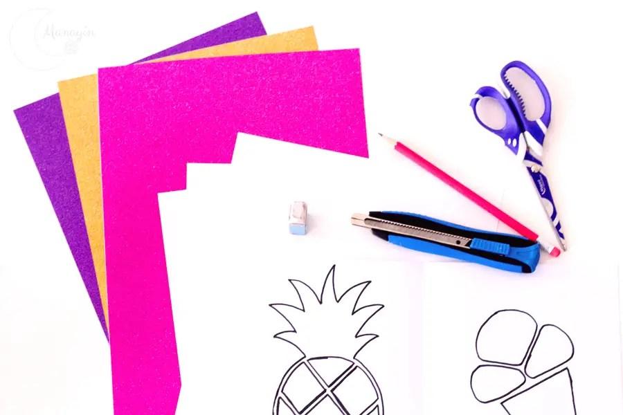 DIY cartes aux couleurs Pop