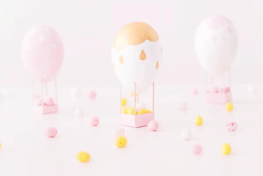 DIY : Des oeufs-montgolfière pour Pâques !