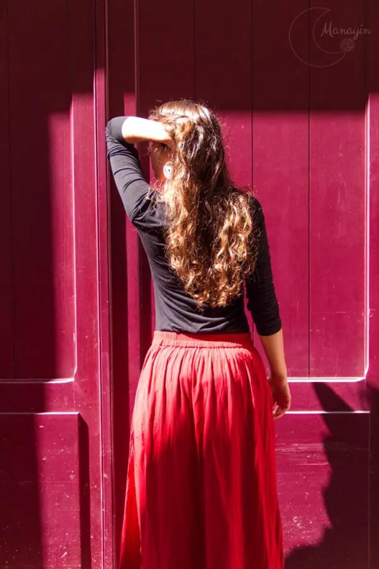 Photographie de mode - rouge