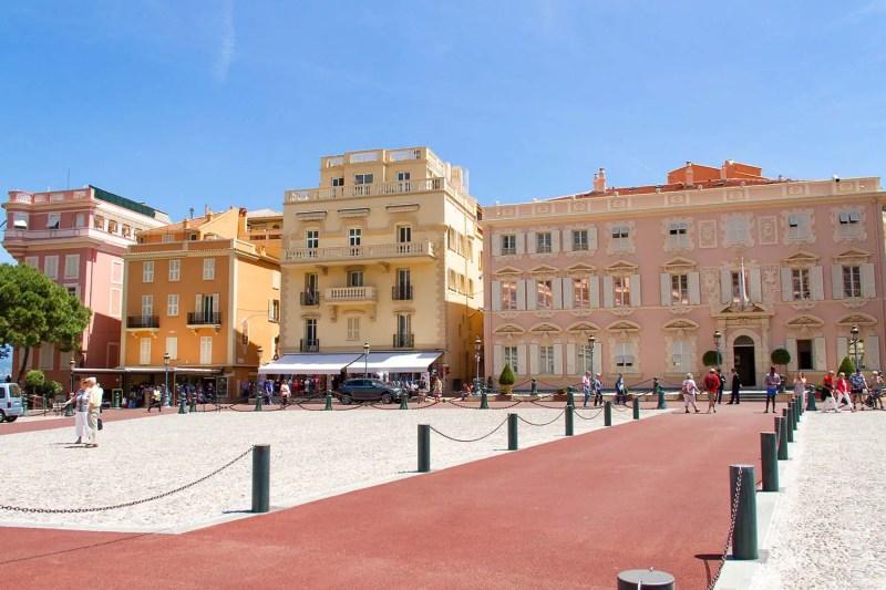 Monaco - Place du palais