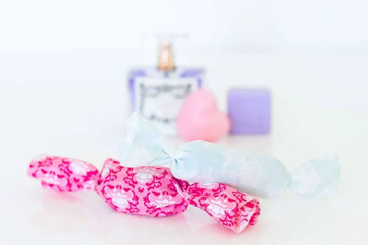 DIY : sachets de lavande bonbons pour son armoire