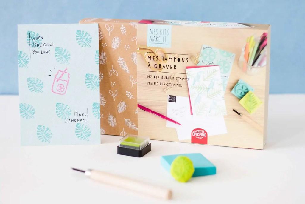 Favoris septembre : Kit DIY tampons à graver