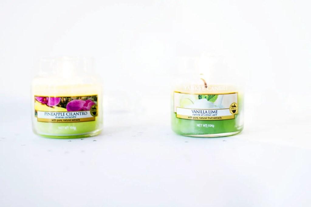Favoris Novembre - Yankee Candles