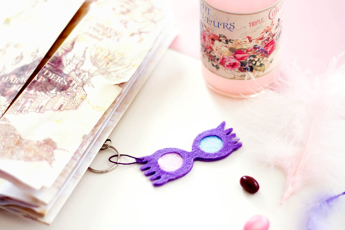 Porte-clés Harry Potter Luna Lovegood