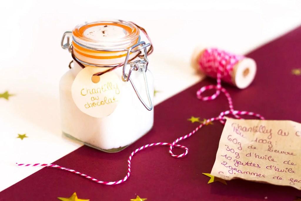 Chantilly de karité au chocolat