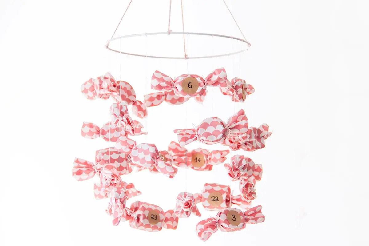 DIY : Calendrier de l'Avent 2017 – en forme de bonbons !