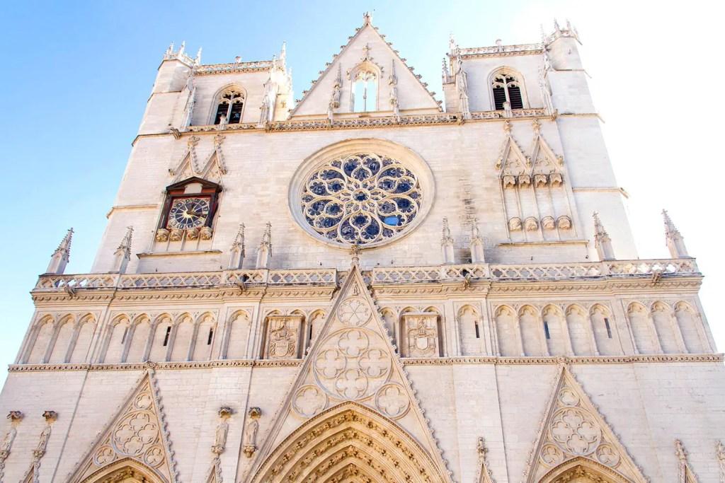 Lyon - Cathédrale Saint-Jean
