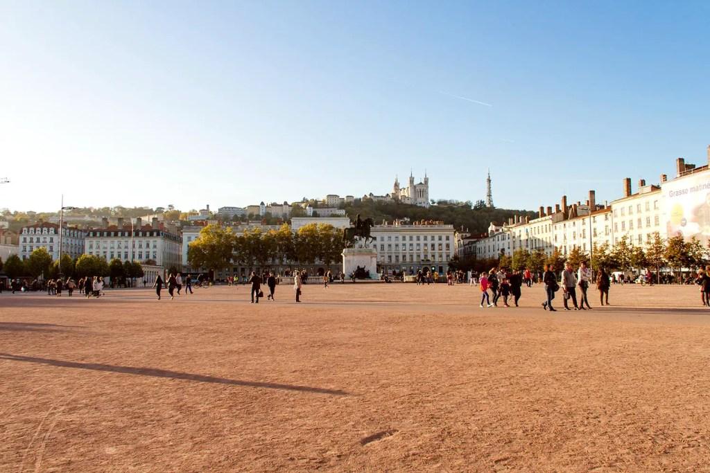 Lyon - Place Bellecour