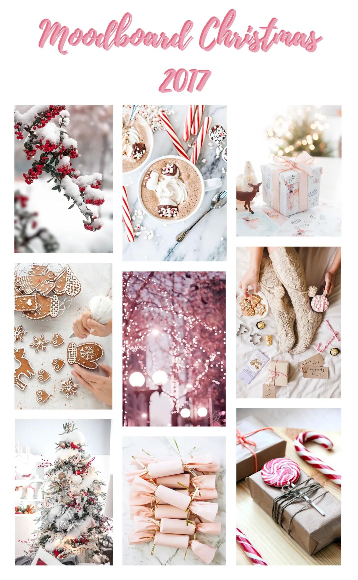 Moodboard Noël - Christmas