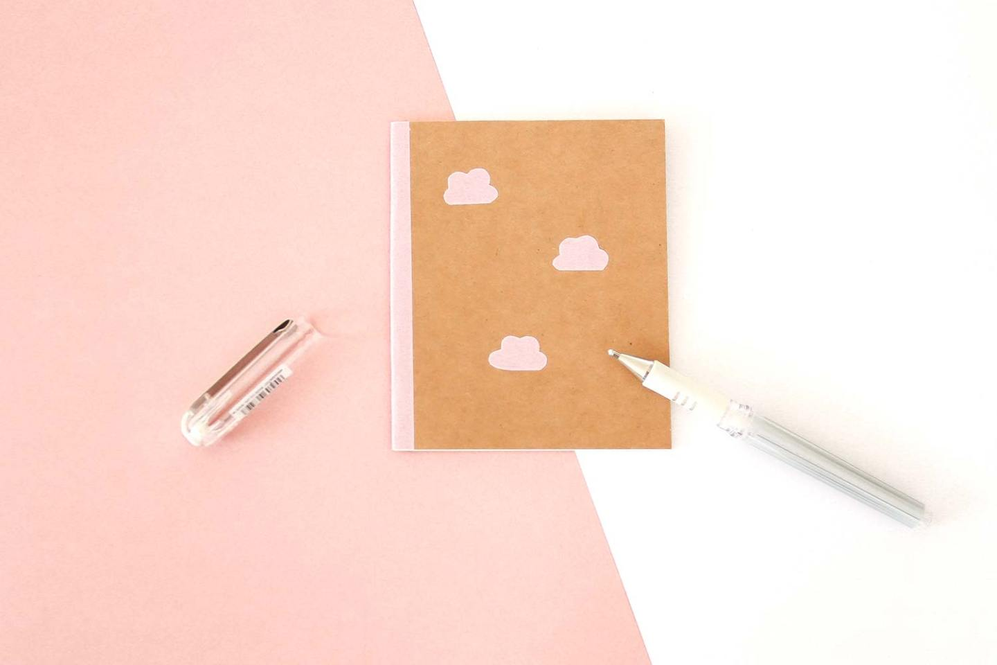 DIY customiser un carnet kraft
