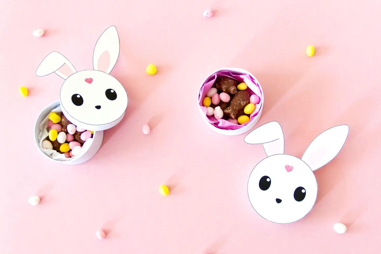 DIY lapin de Pâques