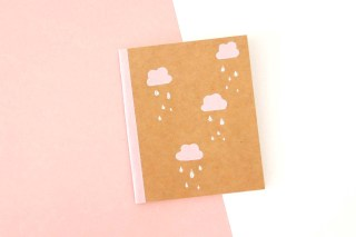 DIY : 3 manières de customiser un carnet kraft graphic