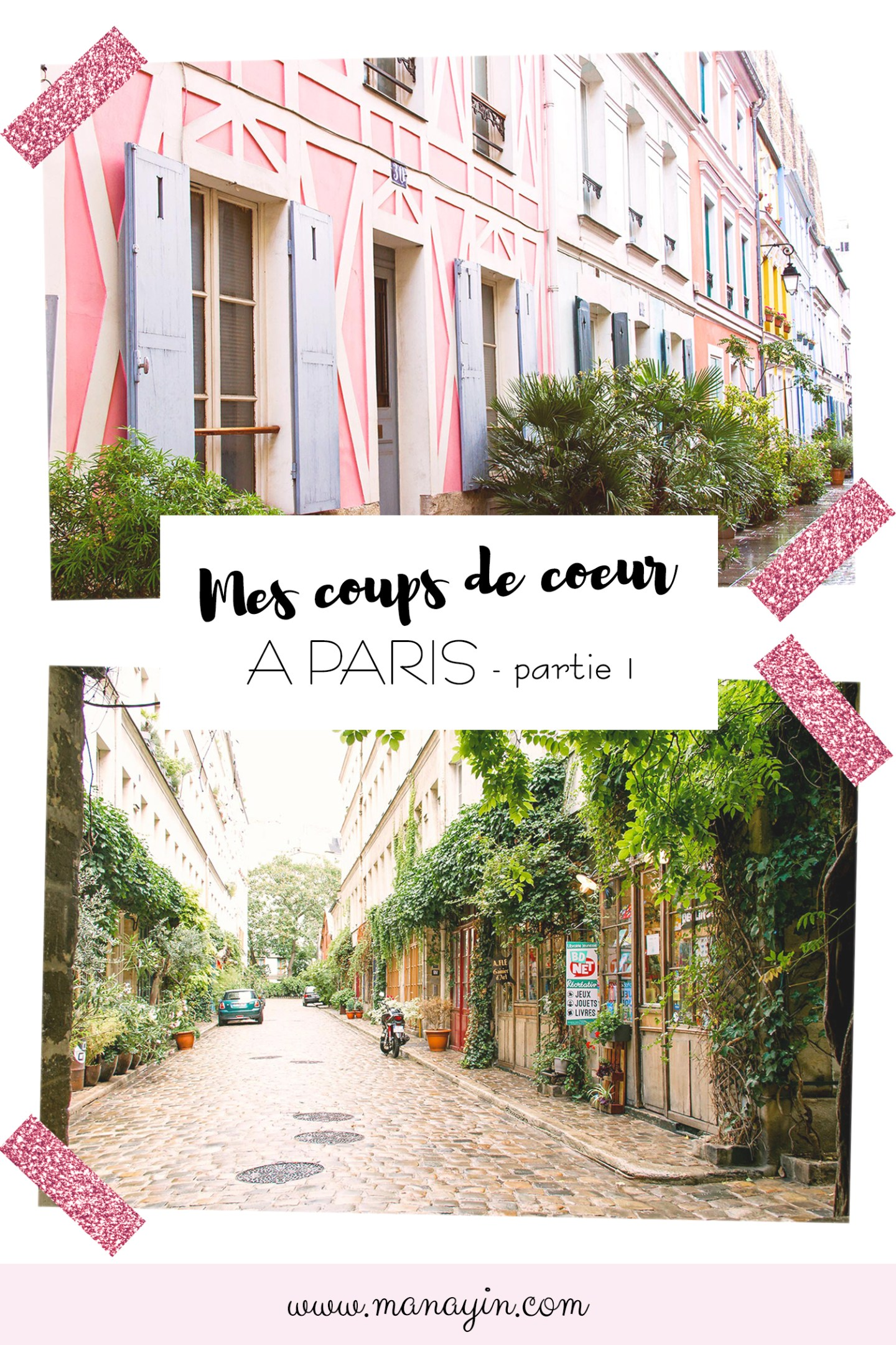 Paris - rue Crémieux, passage Lhomme