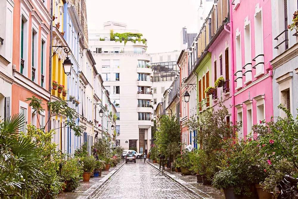 Une balade à… Paris, dans la rue Crémieux et le passage Lhomme !