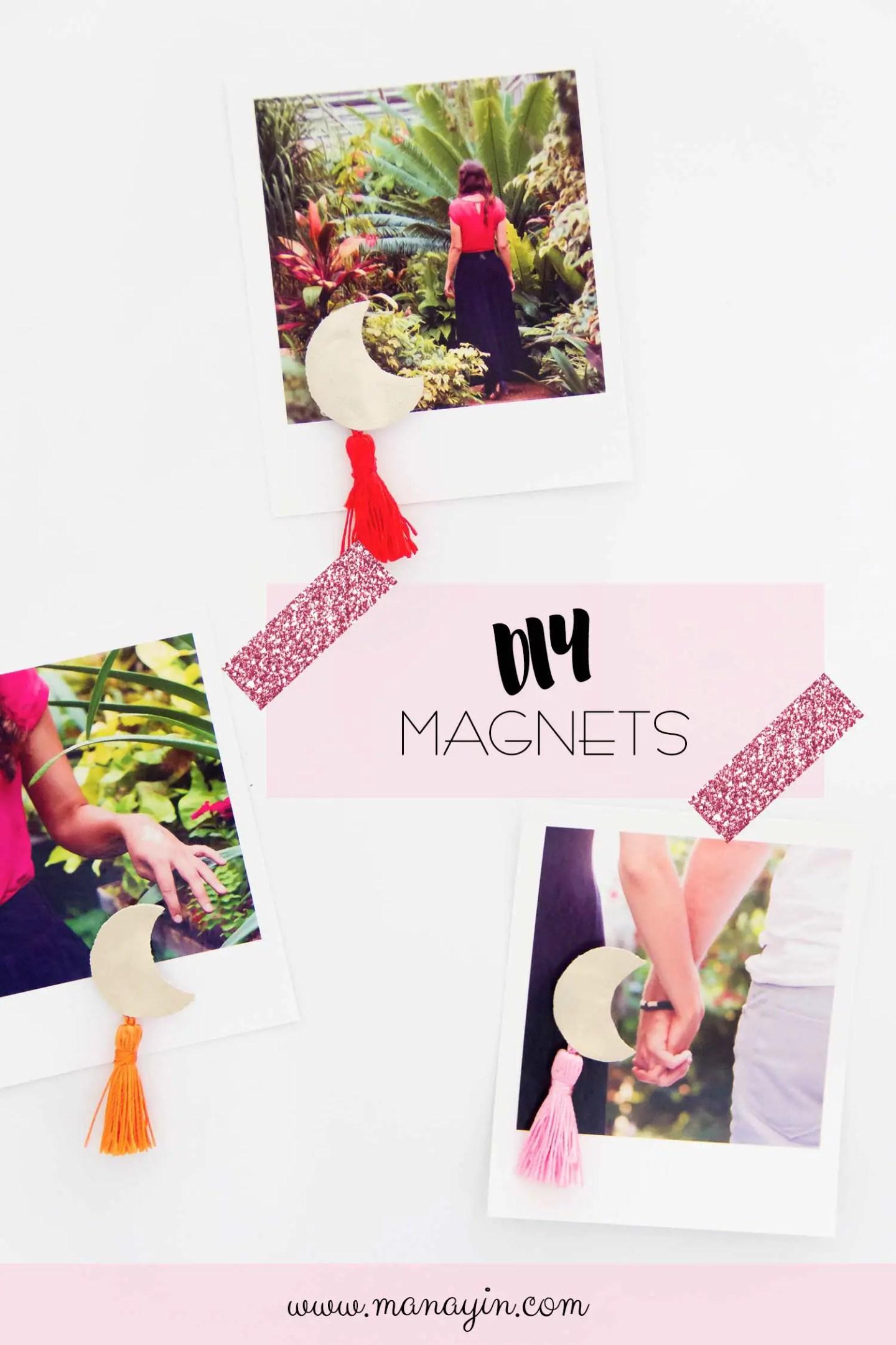 Magnets frigo DIY