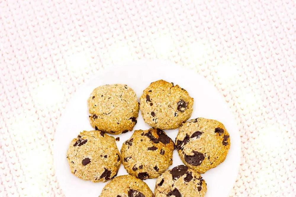 """Recette de cookies """"healthy"""" (sans gluten, sucre raffiné…)"""