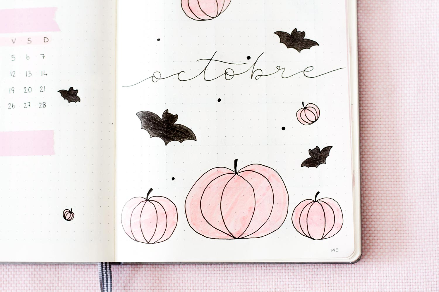 Bullet Journal Octobre