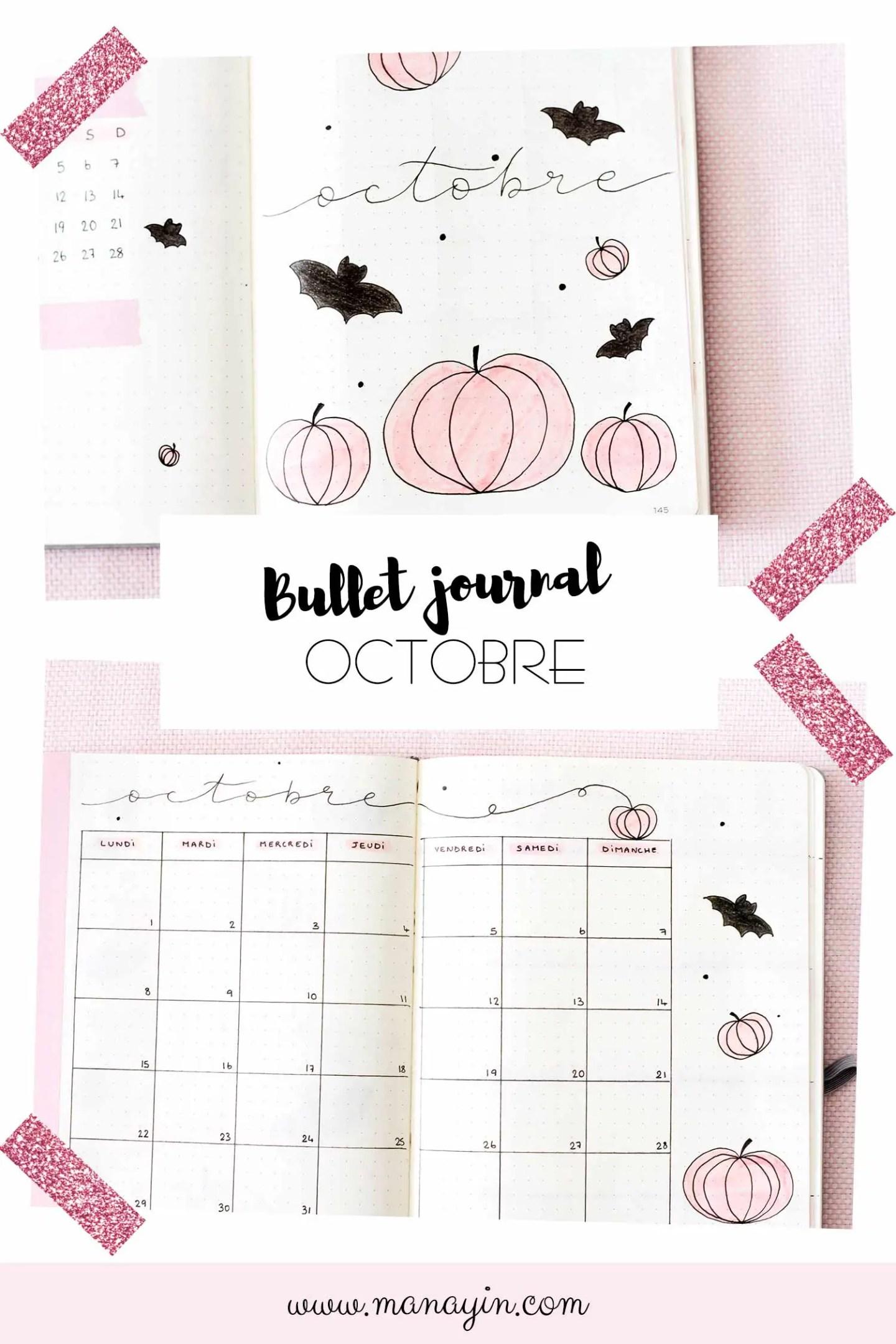 Bullet Journal Octobre