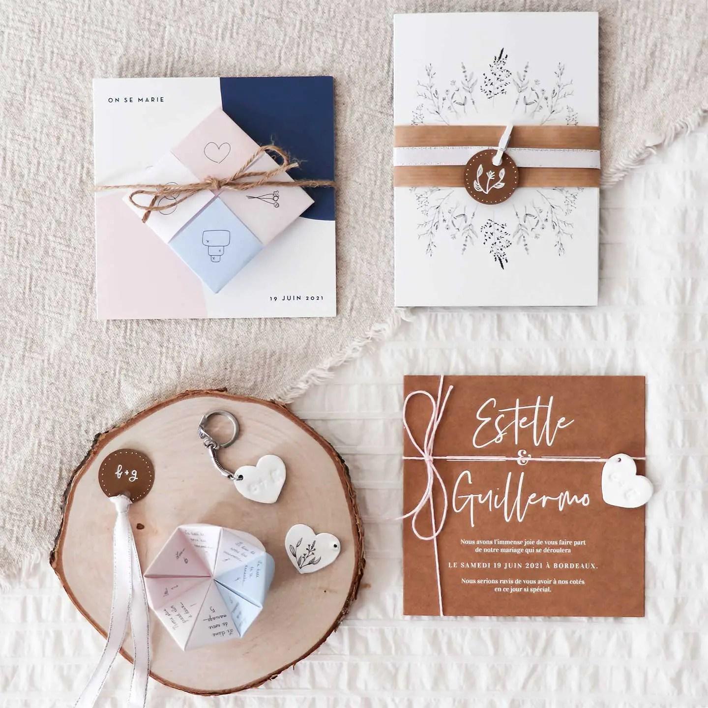 DIY mariage : personnaliser faire-parts