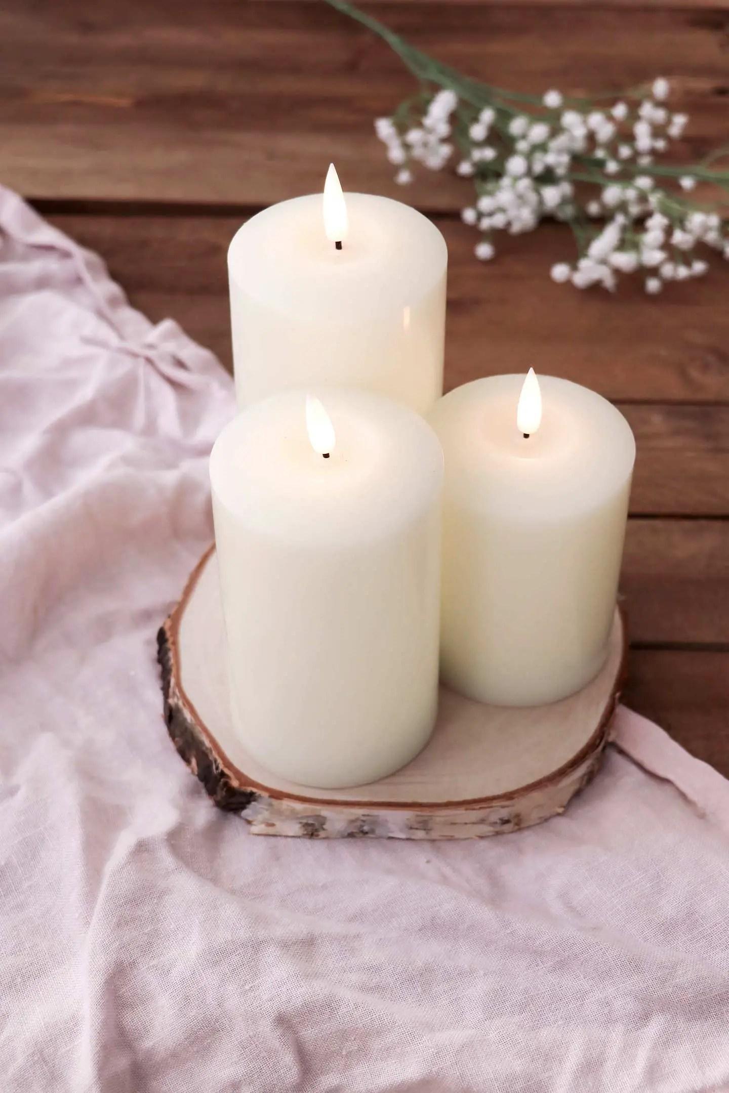 Bougies Lights4fun mariage