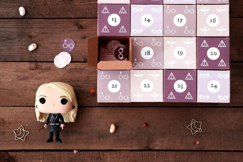 calendrier de l'Avent maison Harry Potter