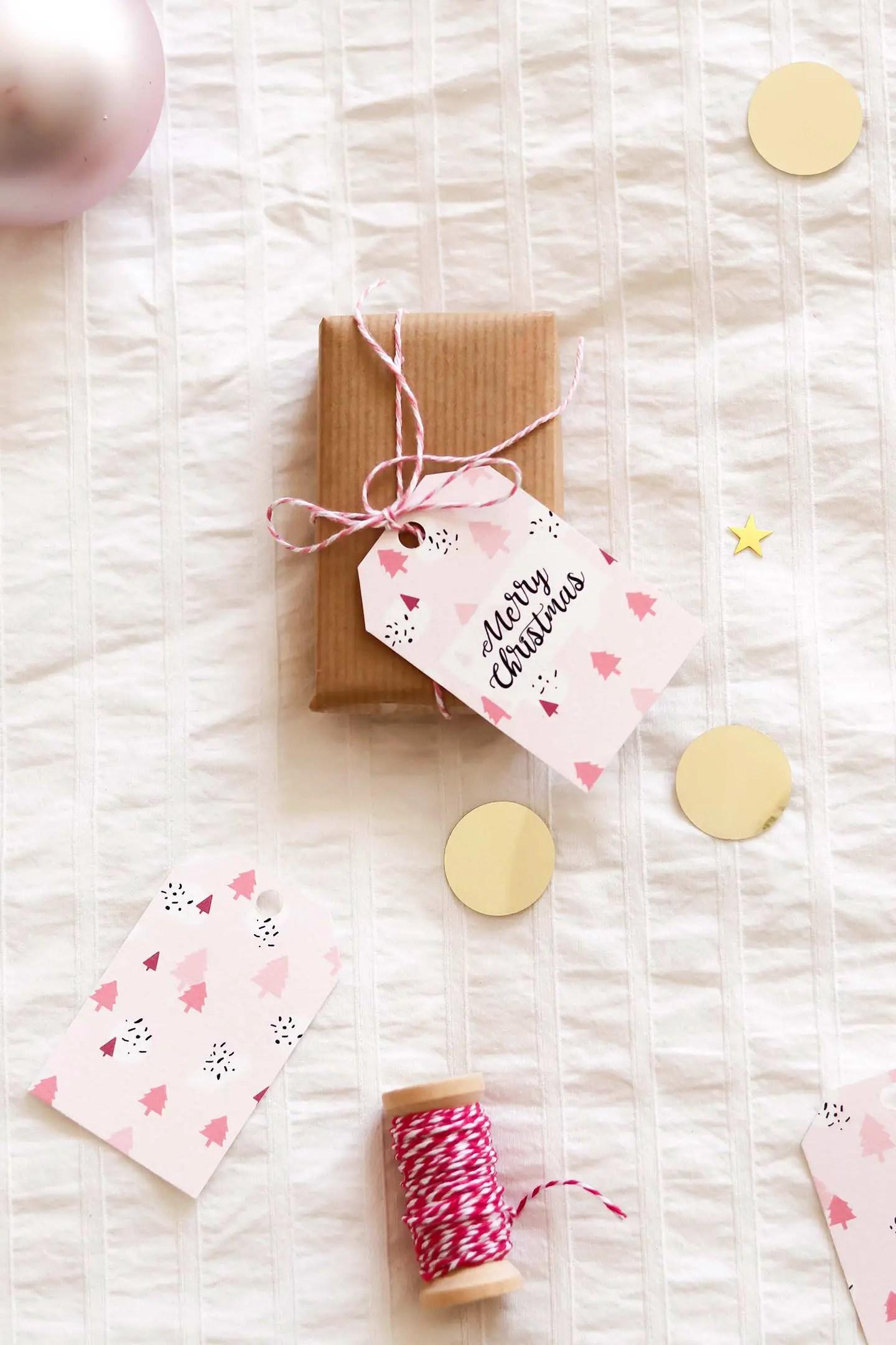 Télécharger étiquettes-cadeaux