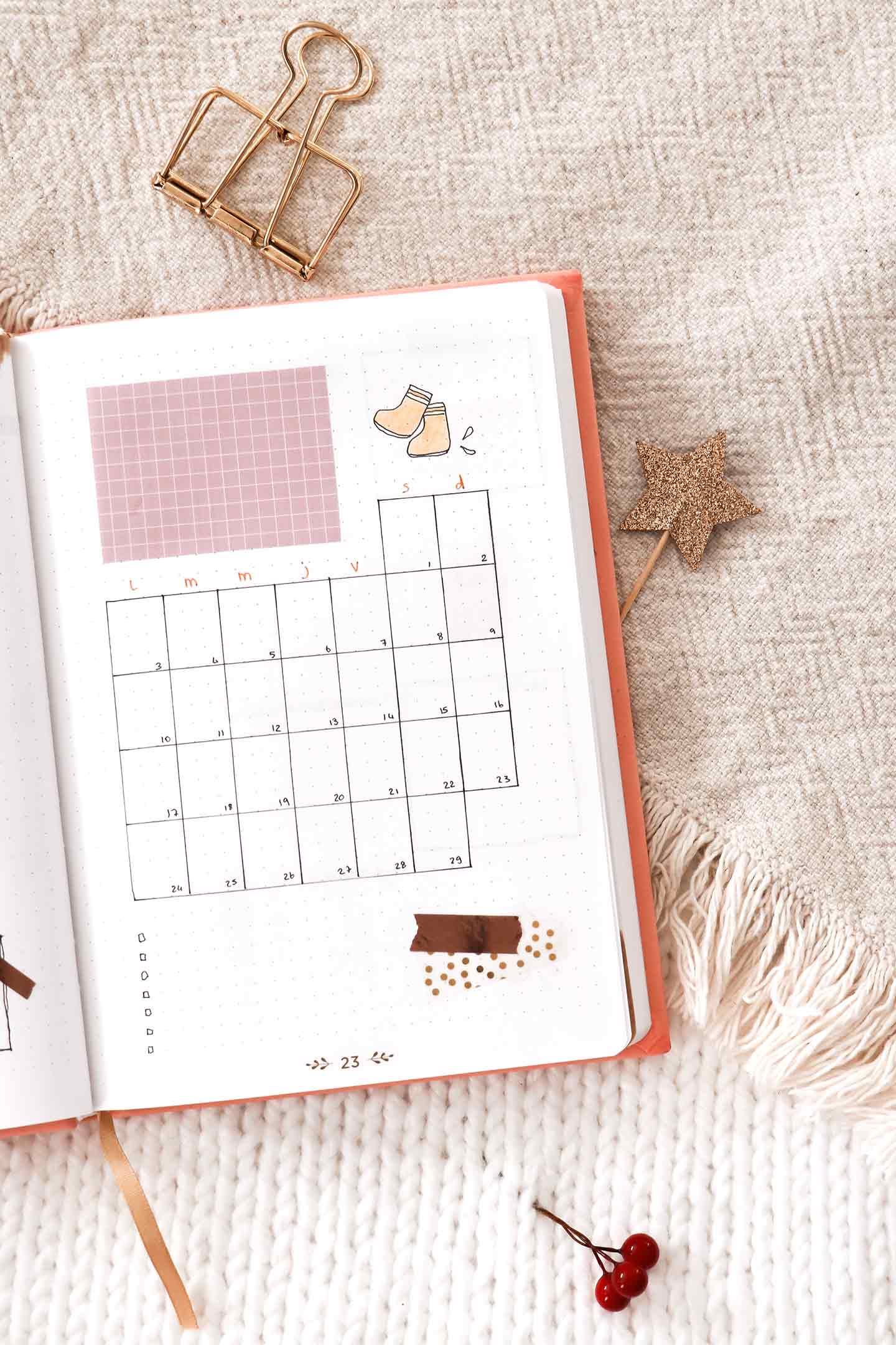 Monthly log février