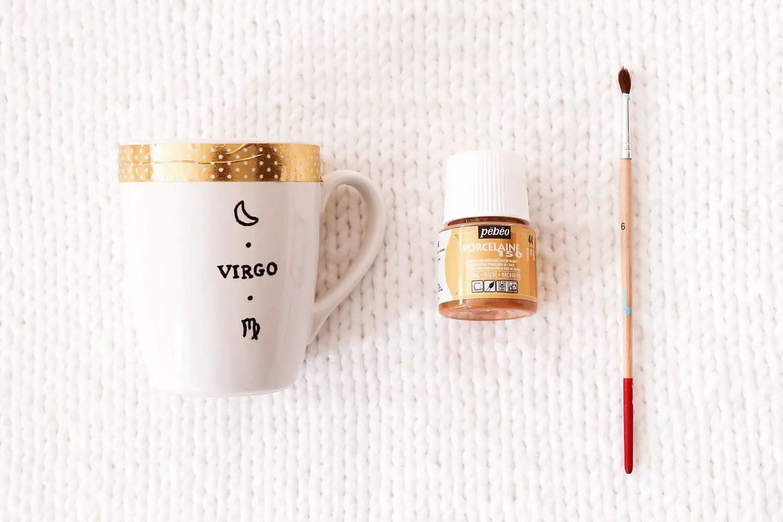 Peinture mug personnalisé
