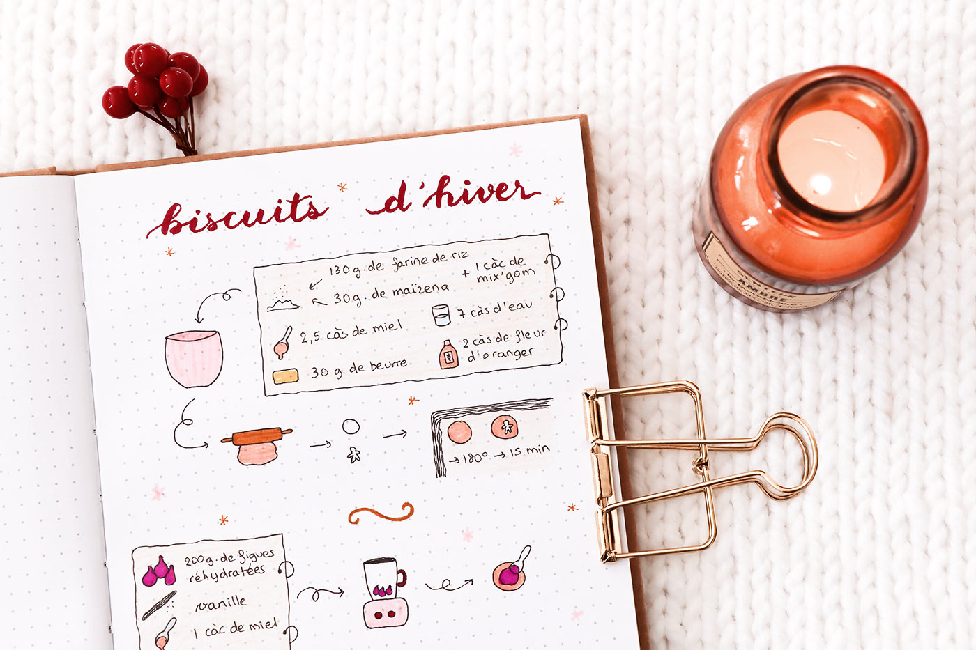 Recette biscuits hiver