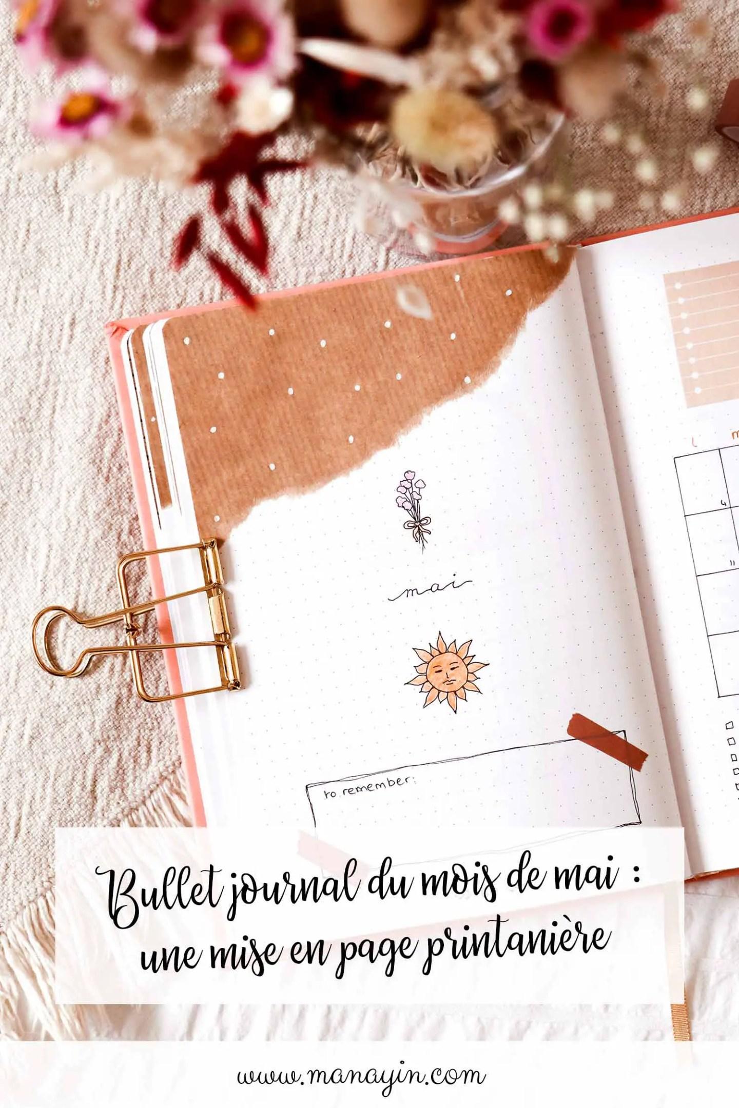 Bullet journal Mai